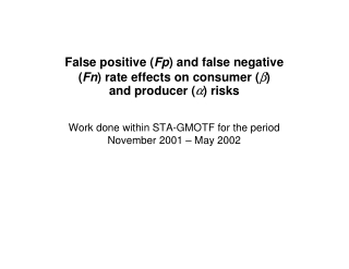 False positive (