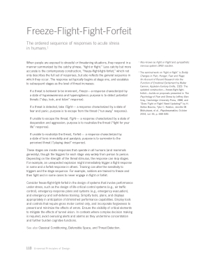 Freeze-Flight-Fight-Forfeit