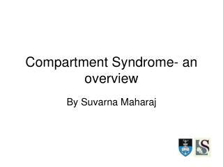 Compartment Syndrome-an outline