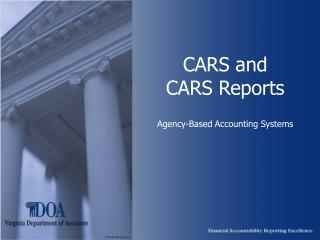 Autos and Autos Reports Organization Based Bookkeeping Frameworks