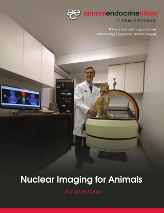 Nuclear Imaging for Animals