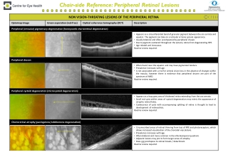 Chair-side Reference: Peripheral Retinal Lesions