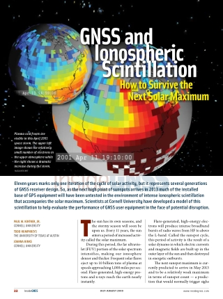 gNss and Ionospheric scintillation