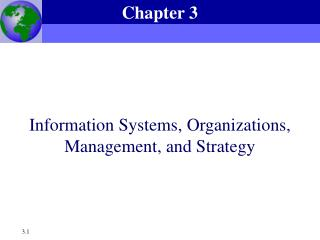Data Systems, Organizations, Management, and Strategy