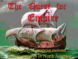 The Quest for Empire You will require you're winding, pen and guide pencils for this action.