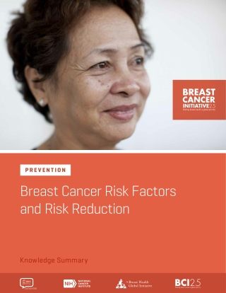 Breast Cancer Risk Factors and Risk Reduction