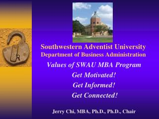 Southwestern Adventist College Division of Business Organization