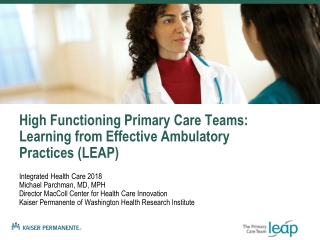 Learning from Effective Ambulatory