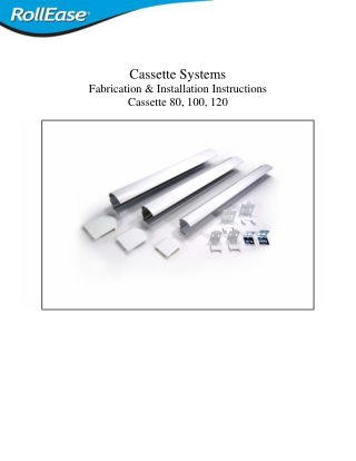 Cassette Systems