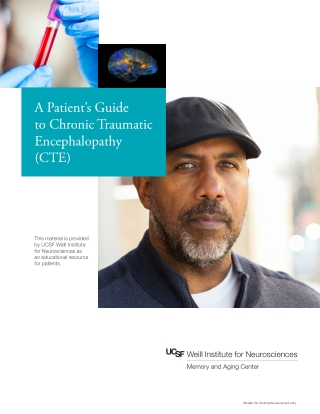 A Patient's Guide to Chronic Traumatic Encephalopathy (CTE)
