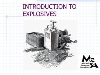 Prologue TO EXPLOSIVES