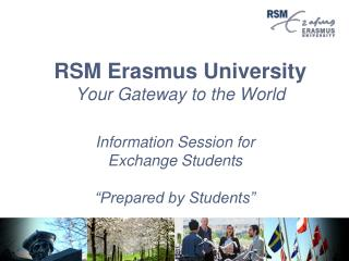 RSM Erasmus College Your Door to the World