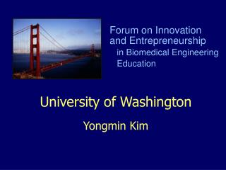College of Washington Yongmin Kim