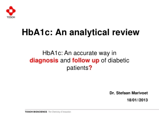 HbA1c: An analytical review