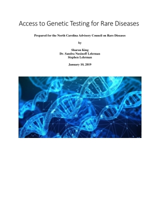 Access to Genetic Testing for Rare Diseases
