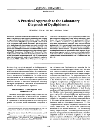 A Practical Approach to the Laboratory