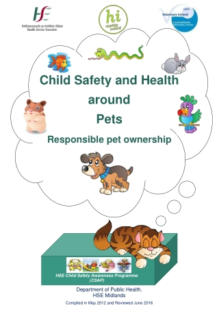 Child Safety and Health around Pets