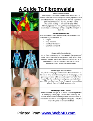A Guide To Fibromyalgia