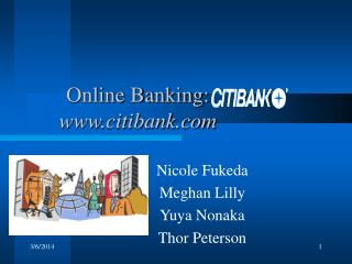 Web Keeping money: citibank