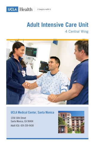 Adult Intensive Care Unit