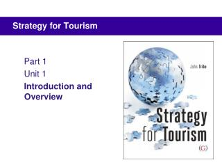 Methodology for Tourism