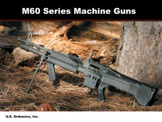 M60 Arrangement Automatic rifles: