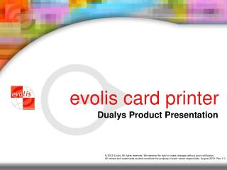 Evolis card printer