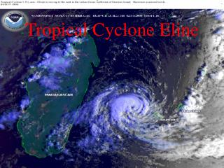 Tropical Cyclone Eline