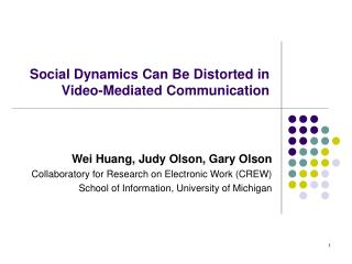 Social Motion Can Be Mutilated in Video-Interceded Correspondence
