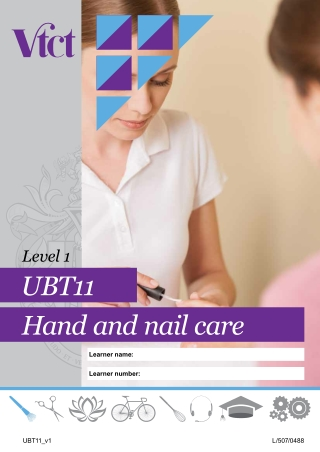 UBT11 Hand and nail care