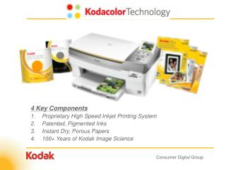 4 Key Parts Restrictive Rapid Inkjet Printing Framework Protected, Pigmented Inks Moment Dry, Permeable Papers 100+ Year