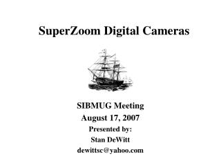 SuperZoom Computerized Cameras