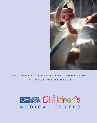 neonatal intensive care unit family handbook