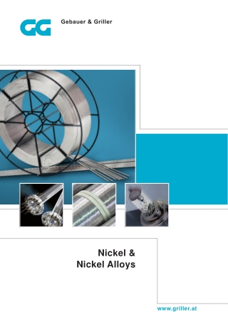 Nickel & Nickel Alloys