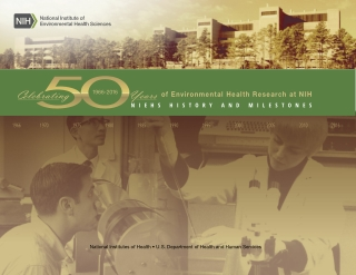 of Environmental Health Research at NIH