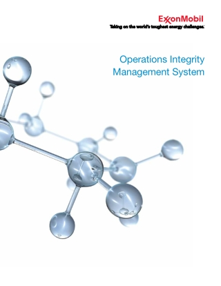 Operations Integrity Management System