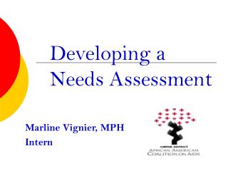 Adding to a Needs Assessment