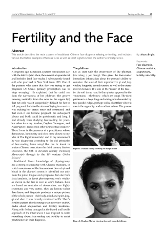 Fertility and the Face