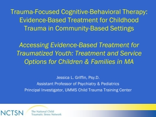 Evidence-Based Treatment for Childhood