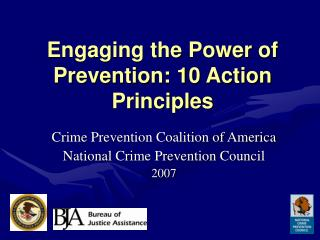 Connecting with the Power of Prevention: 10 Action Principles