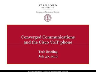 Focalized Communications and the Cisco VoIP telephone