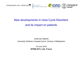 New developments in Urea Cycle Disorders and its impact on patients