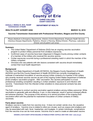 County of Erie