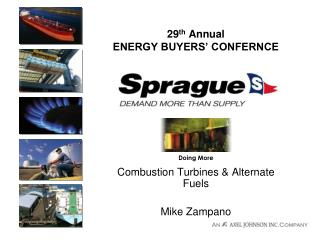 29th Annual ENERGY BUYERS CONFERNCE
