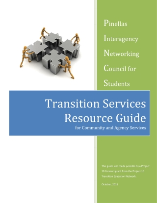 Transition Services Resource Guide