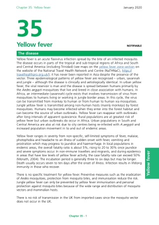 Chapter 35: Yellow fever35Yellow fever