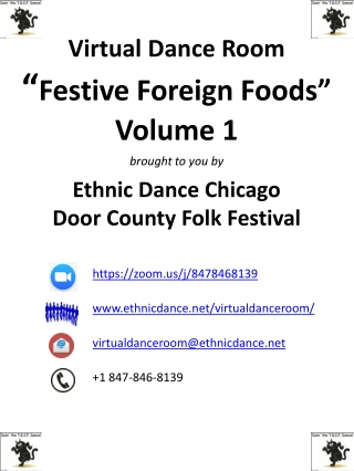 """Festive Foreign Foods"""