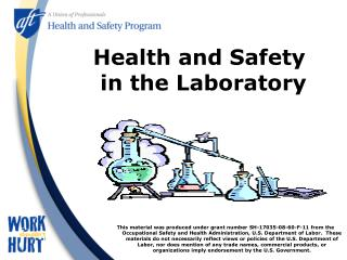 Wellbeing and Safety in the Laboratory