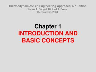 Section 1 INTRODUCTION AND BASIC CONCEPTS