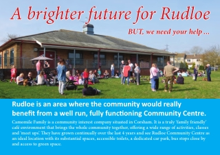 A brighter future for Rudloe